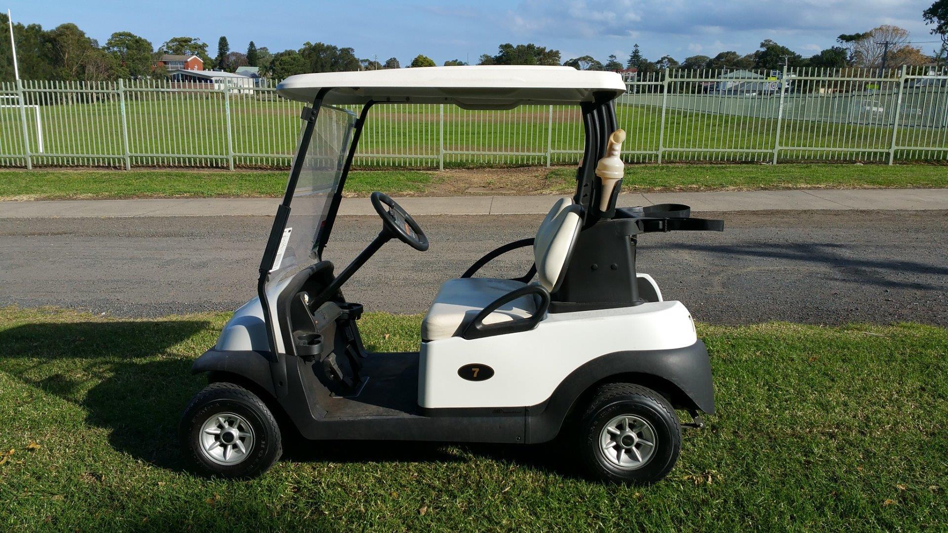 Used 2015 Club Car Precedent 48v Electric Golf Cart Kart