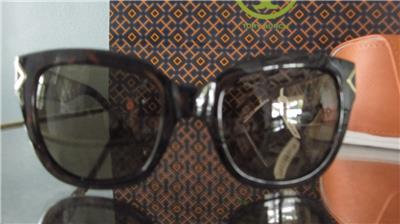 3c580813a2 AUTHENTIC NWT TORY BURCH TORTOISE GOLD FASHION SQUARE SUNGLASSES ...