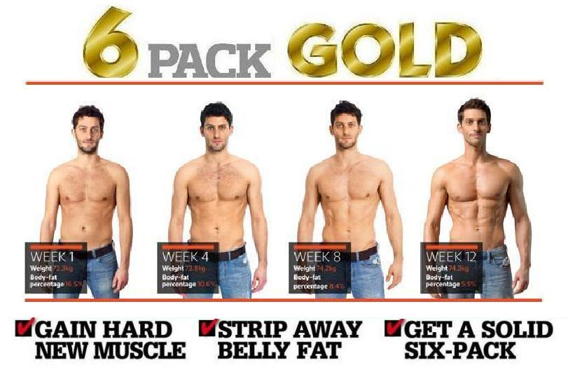 6 Pack Gold Is A Muscle Building And Weight Loss System For Men That Desire The Perfect Chiselled Body These Products Aim Toist With Weight