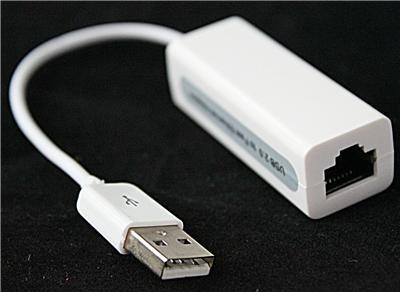 rj45 usb 2 0 to lan ethernet network adapter f r apple windows ebay. Black Bedroom Furniture Sets. Home Design Ideas