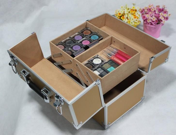 schmuckkoffer koffer kosmetikkoffer friseurkoffer reisekoffer vanity beauty alu. Black Bedroom Furniture Sets. Home Design Ideas