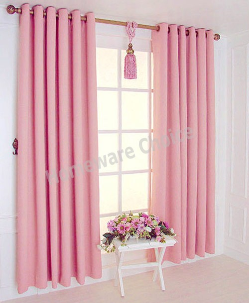 Pink Eyelet Blackout Curtains Uk Scandlecandlecom