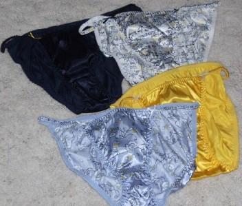 da7719577be JOE BOXER WOMENS SATIN STRING BIKINI UNDERWEAR 4 PACK COLOR ASSMTS 5 ...