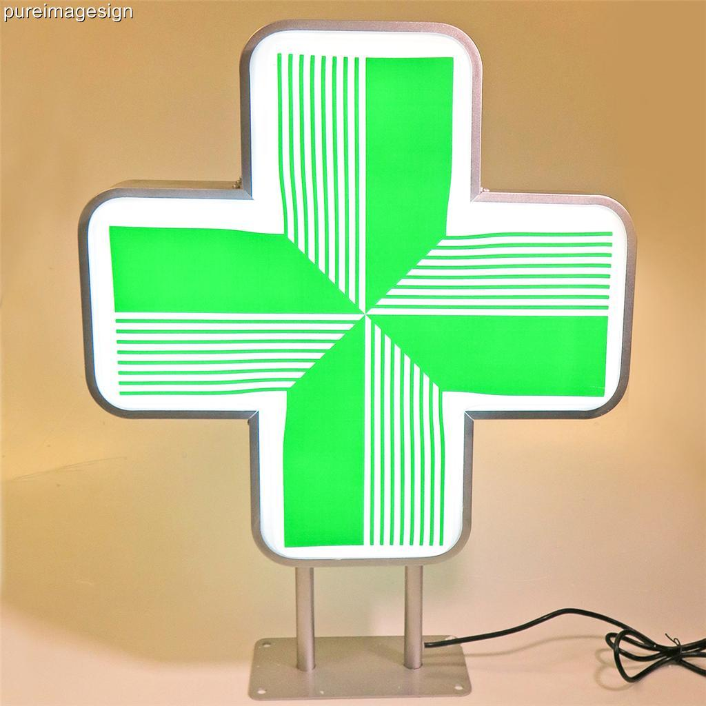Outdoor Shop Sign Lights: LED Sign For Pharmacy Shop Projecting Light Box Outdoor
