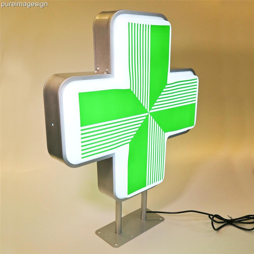 LED Sign For Pharmacy Shop Projecting Light Box Outdoor