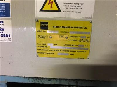 Details about HURCO BMC-20 3 AXIS CNC VERTICAL MACHINING CENTER MILLING  MACHINE