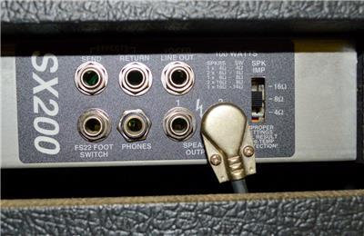 carvin sx 200 sx amp amplifier 2 12 100 watt speakers 115 vac ebay. Black Bedroom Furniture Sets. Home Design Ideas