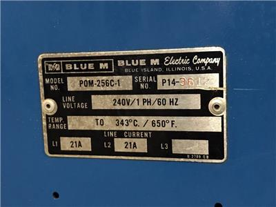 This Is A Fixed Listing For Blue M Oven Model Pom 256c 1