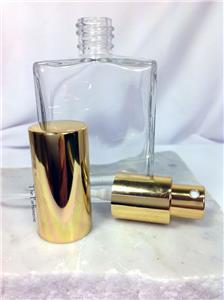 EMPTY FLAT SHAPED REFILLABLE GLASS