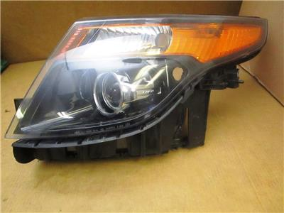 [DIAGRAM_5LK]  OEM 2013-2015 Ford Explorer Police Interceptor Edition LH Left Side  Headlight   eBay   2015 Police Explorer Wiring Harness      eBay
