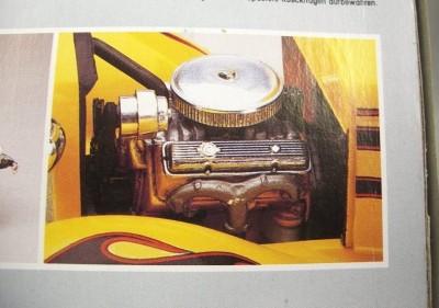 32 Ford Roadster Street Rod Model Car Kit 1/24 Monogram