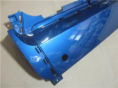Genuine 2008-2015 Smart Fortwo Rear Bumper Cover Panel Blue 451 647 00 01