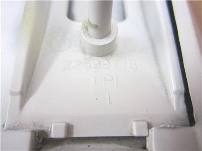 1996 1997 1998 Pontiac Grand Am SE Fender Molding End cap LH Left Driver/'s Side