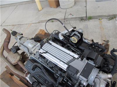 lt1 chevrolet v8 5 7 l motor motor w transmisi n manual de 5 rh ebay com 5.7 Chevy Engine 1995 Chevy 5.7 Engine Specs