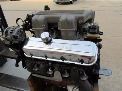 Details about V8 454 Motor Engine GM Chevrolet Fuel Injected Tall EFI Block  # 10114182