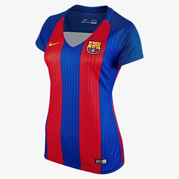 a2a8df646 Nike FC Barcelona 2016 17 Women s Home Jersey Short Sleeve