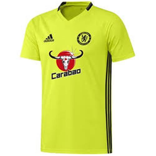 adidas Chelsea 201617 Men's Training Jersey Volt 1703 | eBay