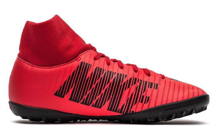 Nike MercurialX Victory VI DF TF TF DF Homme Turf Football Soccer Chaussures Uni Red 1711 Chaussures de sport pour hommes et femmes a994d7