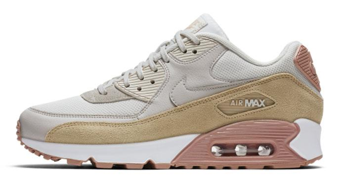 1710 Nike Air Max 90 Women's Sneakers Sports Shoes 325213-046