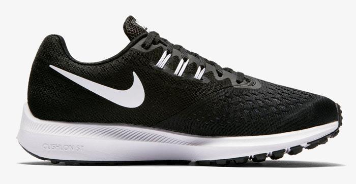 1710 Nike Zoom Winflo 4 Women's Training Running Shoes 898485-001