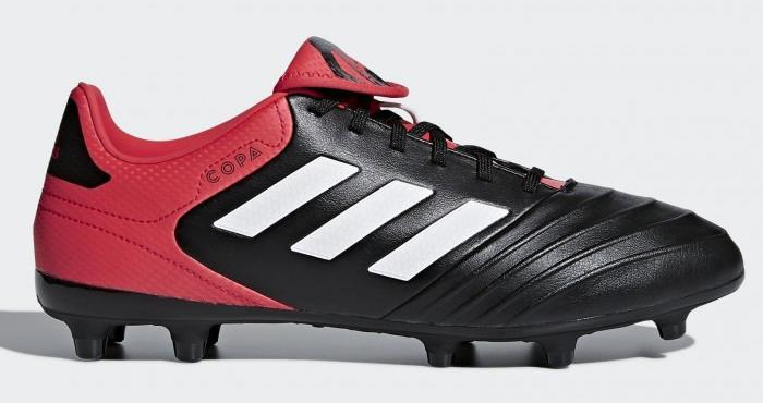 adidas Copa 18.3 Men's FG Soccer Cleats Football Shoes Black-Red-White 1801