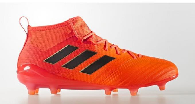 adidas Ace 17.1 Men's FG Soccer Cleats Football Shoes Solar Orange-Black 1801