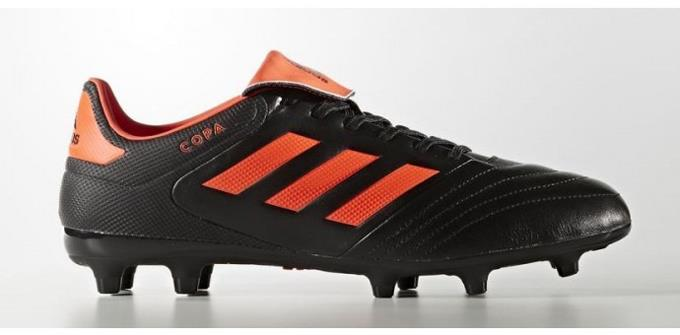 adidas Copa 17.3 Men 's FG Soccer Cleats Football Shoes Black-Solar Orange 1801