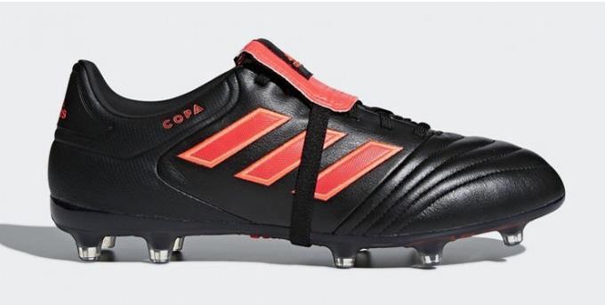 adidas Copa Gloro 17.2 Men's FG Soccer Cleats Football Shoes Black- Red 1801