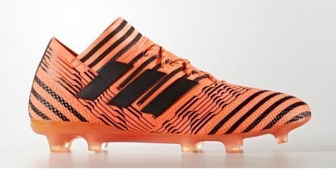 adidas nemeziz crampons 17.1 les crampons nemeziz des chaussures de football orange-Noir 1801 solaire. 3ee4bf