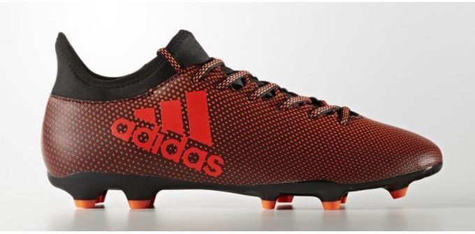 17.3 para hombre Botines Adidas X FG Botines hombre De Fútbol Zapatos Negro-Solar Naranja Nuevo 98bf2b