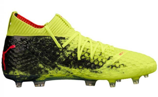 Puma Puma Puma Future 18.1 Netfit homme FG Soccer Cleats Football chaussures Volt-noir 1801 bab3a2