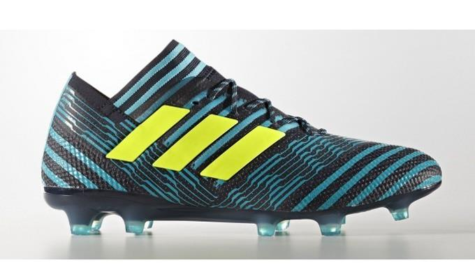adidas Nemeziz 17.1 Homme FG Soccer Chaussures Cleats Football Chaussures Soccer Legend Ink- Jaune1801 1ad7aa