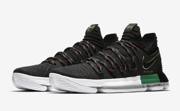 1802 Nike Zoom KD 10 LMTD EP Men's Basketball Shoes AA4197-003