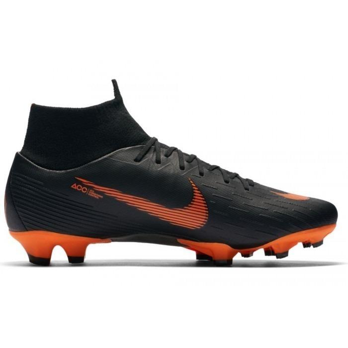Nike Mercurial Superfly Superfly Superfly VI Pro FG homme Soccer Cleats chaussures AH7368-081 1804 Blk aa3ae9