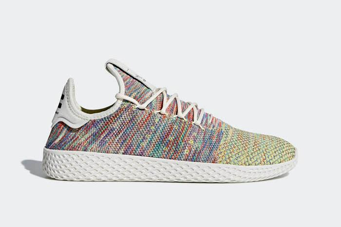 1803 Hu adidas Originals Pharrell Williams Tennis Hu 1803 Men's Sneakers Shoes CQ2631 677512