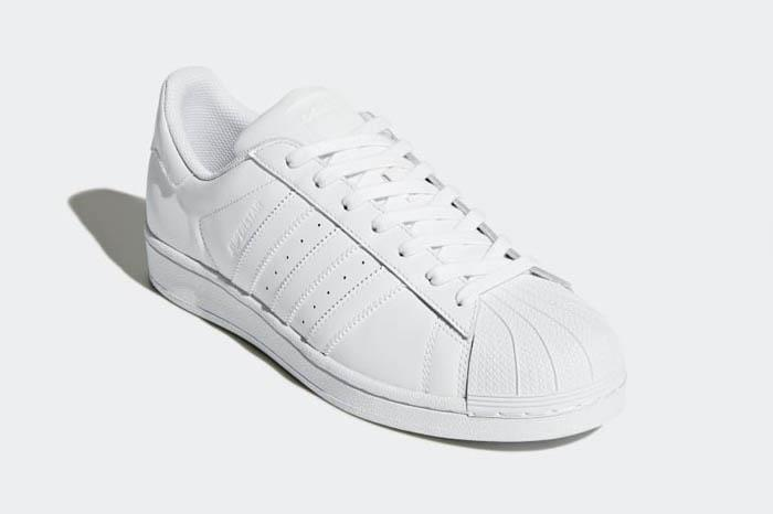1804 adidas superstar fondazione uomini scarpe sportive originali.