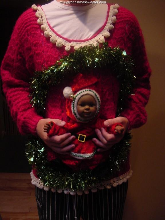 134 best Ugly Christmas Sweater Contest Ideas images on ... |Ugliest Sweater Contest Ideas