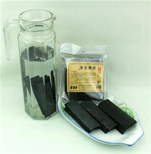 reinigen wasser entfernen rauchmelder geruch 1 st ck 10x3cm bambus holzkohle. Black Bedroom Furniture Sets. Home Design Ideas