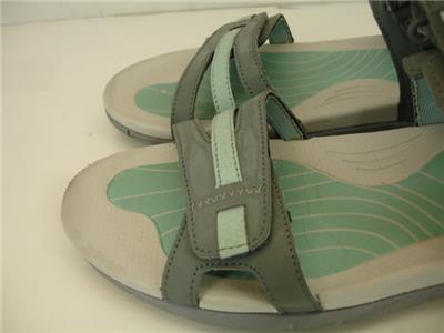 d8b4a9ff487c Womens 10 M Merrell Lissum Ridge Convertible Adjustable Sandals Sedona Blue  Surf