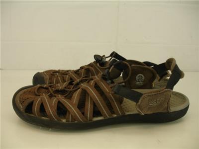 1bbede26f00f Mens 11 M 44.5 Keen Kuta Cascade Brown Sport Sandals Slip-On Nylon Comfort  Water