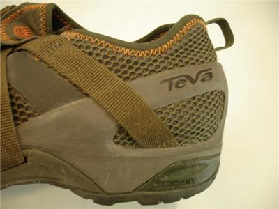 a8a8b4c6665c37 Mens 14 M Teva 4009 Sunkosi 2 Water Shoes Green Stone Gray Slip-On Hiking  Sport