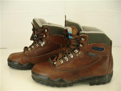 b7bfb825801 Womens 7.5 M Tecnica Acadia Brown Leather Hiking Boots Gore-Tex ...