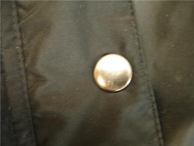 8e66b0aabd402 Womens PLUS 5X Woman Within Black Long Puffer Down Parka Stadium Coat Faux  Fur