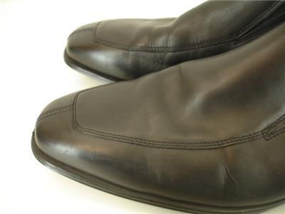 ce36a4c52ec Mens 9.5 M Cole Haan AIr Madison Split Toe Venetian Loafers Shoes Black  Leather