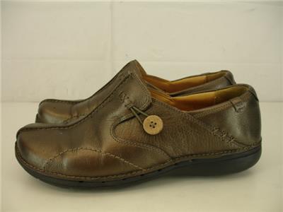 Zapatos De Cuero para mujer Talla 10 M Clarks Unstructured