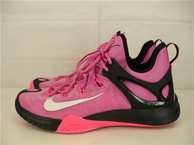 the best attitude 70b5b 2fc80 ... authentic nike mens 11.5 zoom hyperrev 2015 basketball shoes 705370 606  pink black silver 8f973 09ba4