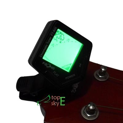 Mini Clip On Chromatic Bass Ukulele Banjo Guitar Tuner