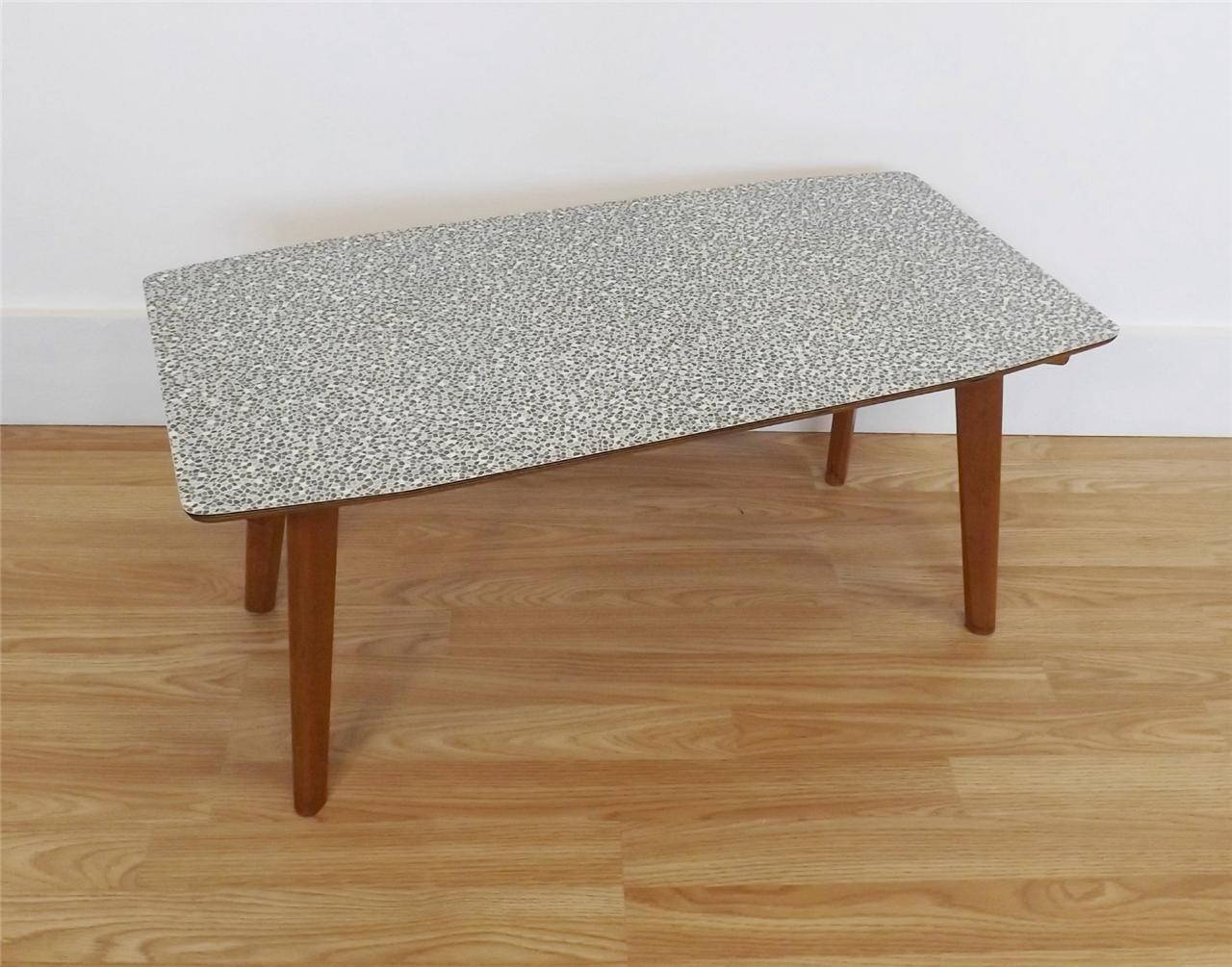 formica coffee table retro vintage mid century atomic 50s. Black Bedroom Furniture Sets. Home Design Ideas