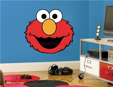 Removable Elmo Wall Decals Color The Walls Of Your House & Elmo Wall Decor - Techieblogie.info