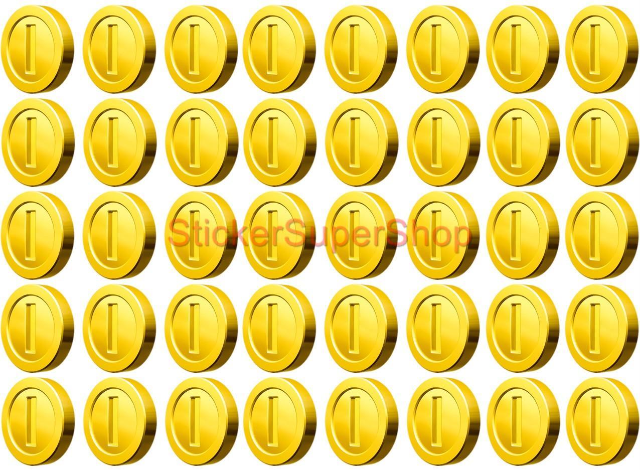 Super Hero Bedroom Choose 10 20 40 Coins Super Mario Bros Decal Removable